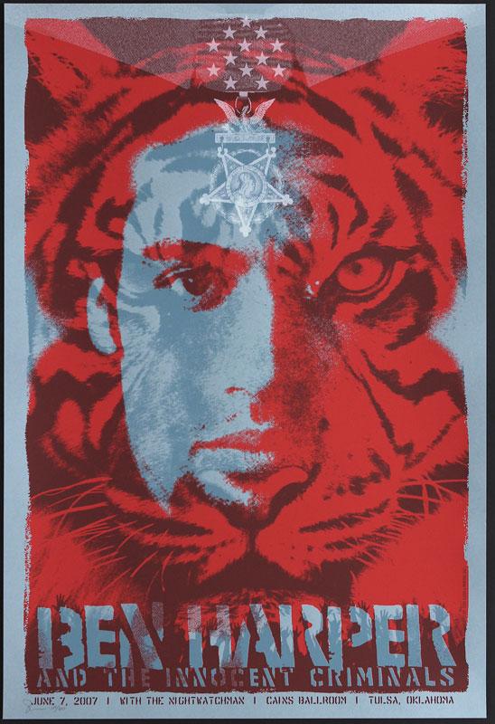 Todd Slater Ben Harper Poster