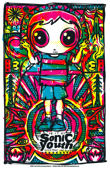 Todd Slater Sonic Youth Poster