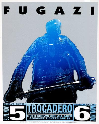 Psychic Sparkplug Fugazi Poster