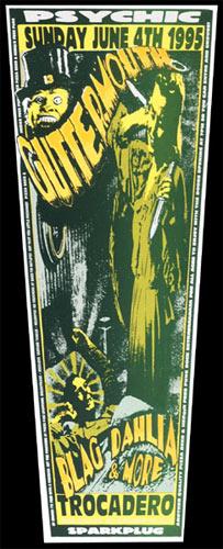 Psychic Sparkplug Guttermouth Poster