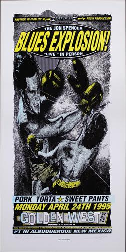 Psychic Sparkplug Jon Spencer Blues Explosion Poster