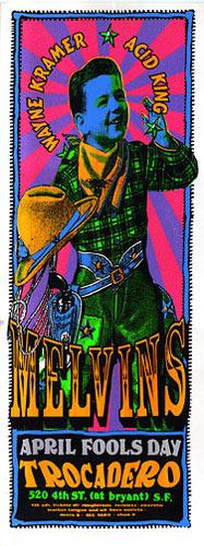 Psychic Sparkplug Melvins Poster