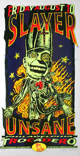 Psychic Sparkplug Slayer Poster