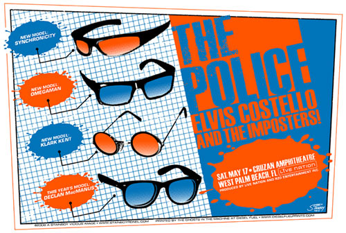 Stainboy The Police Poster