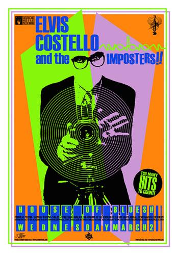 Stainboy Elvis Costello Poster