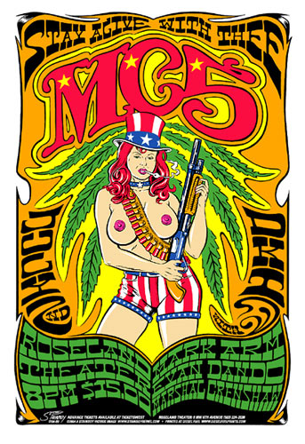 Stainboy MC5 Poster