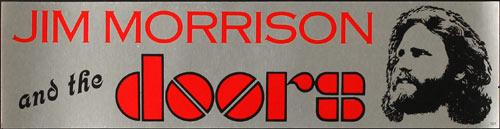 Vintage Jim Morrison Doors Bumper Sticker