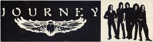 Journey Vintage Bumper Sticker