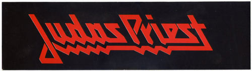 Judas Priest Vintage Bumper Sticker