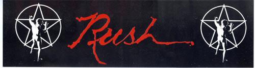 Rush Vintage Bumper Sticker