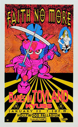 TAZ Faith No More Poster