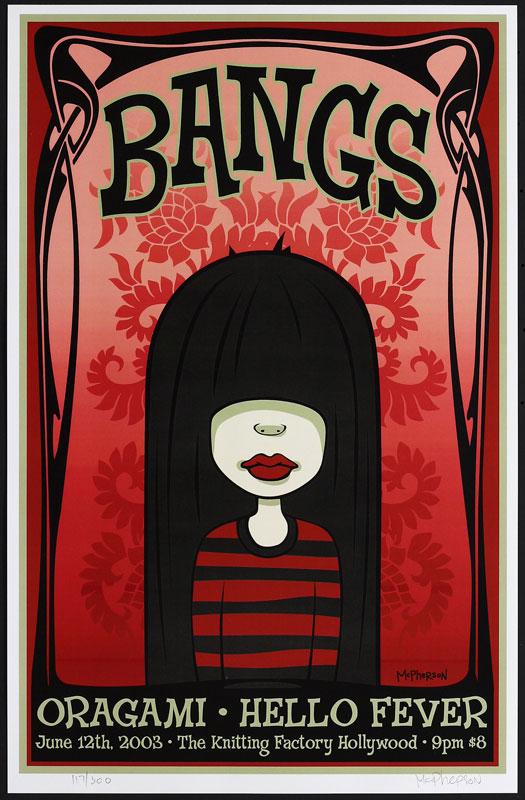 Tara McPherson Bangs Poster