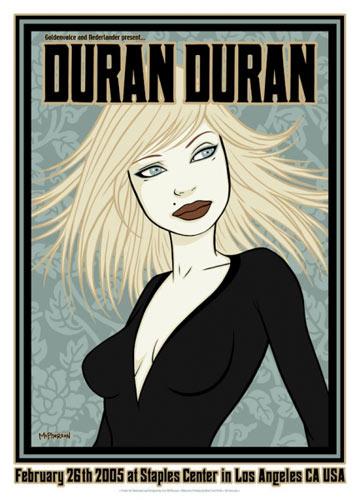 Tara McPherson Duran Duran Poster