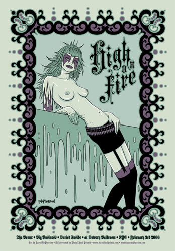 Tara McPherson High On Fire Poster