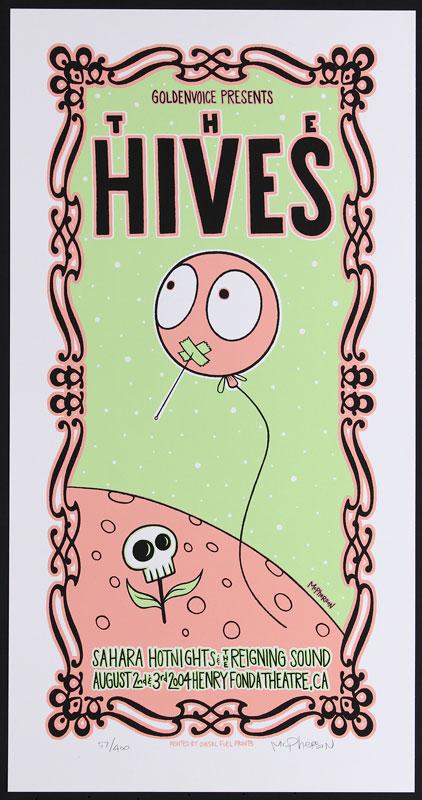 Tara McPherson The Hives Poster