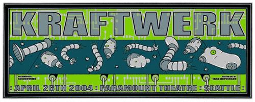 Tara McPherson Kraftwerk Poster