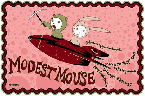 Tara McPherson Modest Mouse Poster