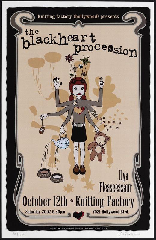 Tara McPherson The Blackheart Procession Poster