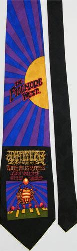 Rick Griffin / Victor Moscoso Fillmore Tie - Jim Hendrix BG140 Tie