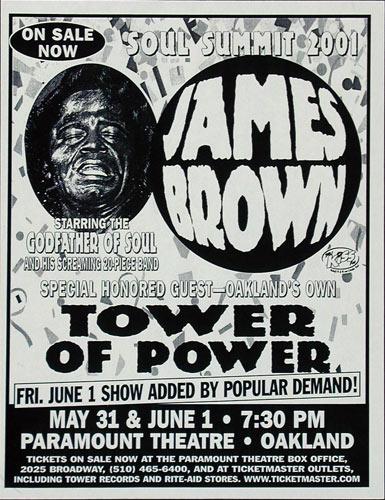 James Brown Flyer