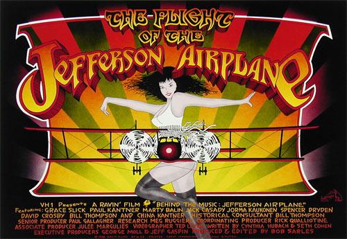 Randy Tuten The Flight Of The Jefferson Airplane Movie Poster