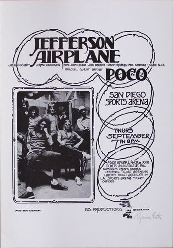 Randy Tuten Jefferson Airplane Poster