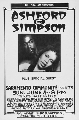 Randy Tuten Ashford & Simpson Poster