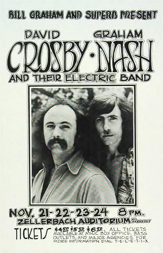 Randy Tuten David Crosby Poster