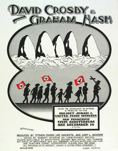 Randy Tuten Save The Whales , United Farmworkers Poster