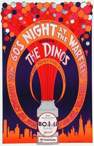 Randy Tuten The Dinos Poster