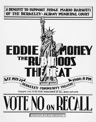 Randy Tuten Eddie Money Poster