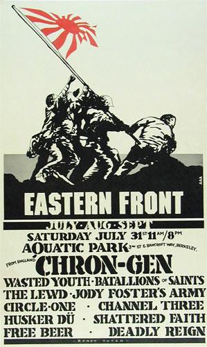 Randy Tuten Eastern Front Poster