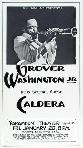 Randy Tuten Grover Washington Jr. Poster