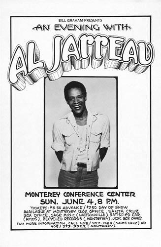 Randy Tuten Al Jarreau Poster