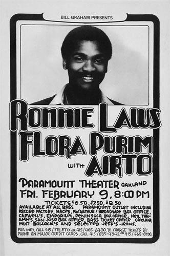 Randy Tuten Ronnie Laws Poster