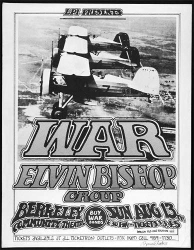 Randy Tuten War Poster - signed