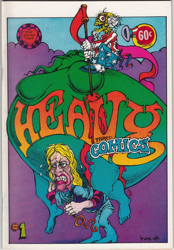 Greg Irons Heavy Tragi-Comics #1 Underground Comic