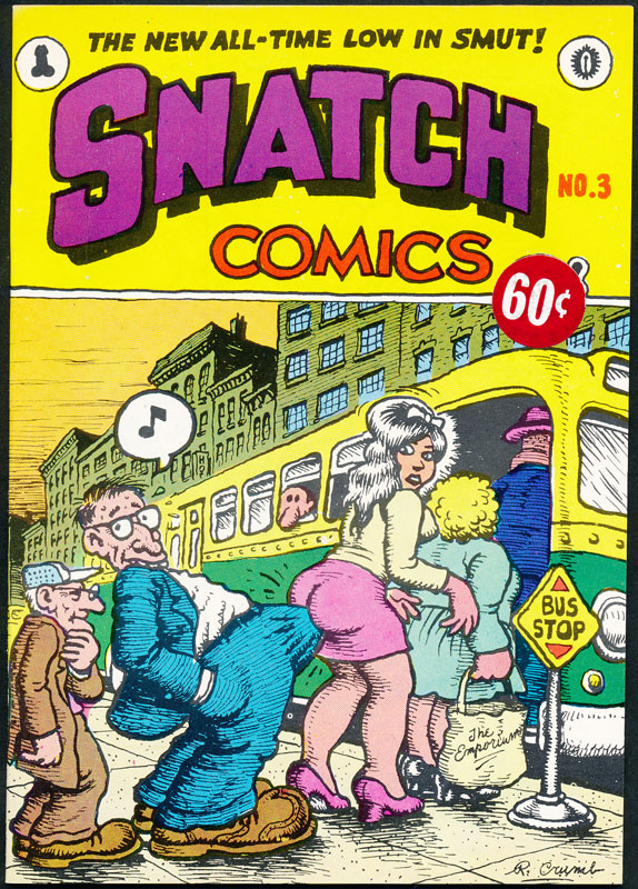 Robert Crumb Snatch No 3 Underground Comic