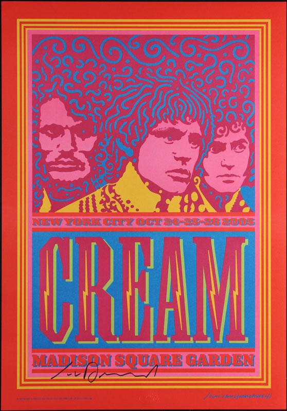 John Van Hamersveld Cream Postcard