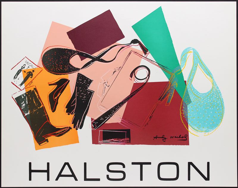 Andy Warhol Halston #2 - Women's Accessories Serigraph