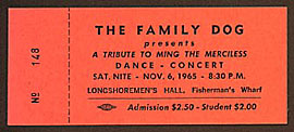 Ming the Merciless Family Dog Ticket