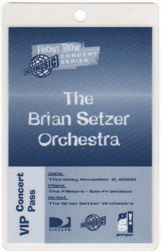 The Brian Setzer Orchestra Laminate
