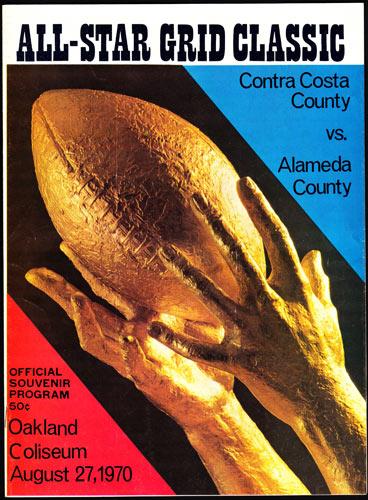 Contra Costa vs Alameda County Football High School Football Program
