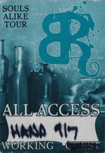 Bonnie Raitt Souls Alike All Access Working Backstage Pass