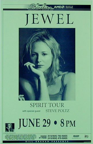 Jewel - Spirit Tour Phone Pole Poster
