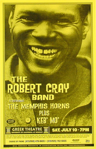 The Robert Cray Band Phone Pole Poster