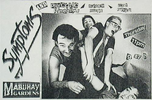 Symptoms Punk Flyer / Handbill