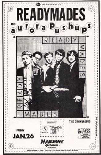 Readymades Punk Flyer / Handbill