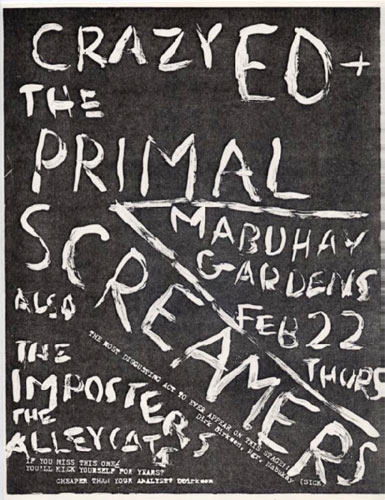 CrazyED Punk Flyer / Handbill
