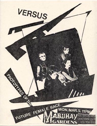 Versus Punk Flyer / Handbill